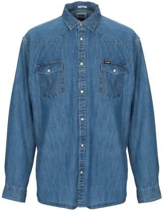 Wrangler Denim shirts - Item 42731861MH