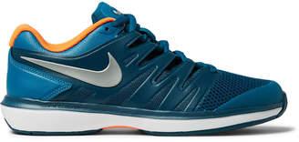Nike Tennis - Air Zoom Prestige Rubber-Trimmed Mesh Tennis Sneakers