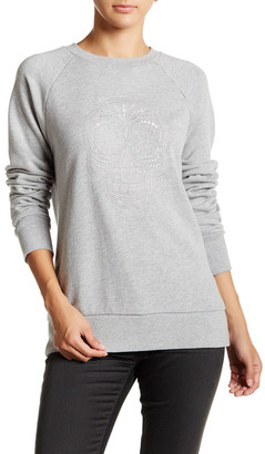 Obey Day Of The Dead Crew Embroidered Sweater $58 thestylecure.com