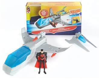 Superman Justice League Action Figure And Deluxe Vehicle