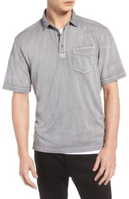 Treasure & Bond Trim Fit Washed Polo
