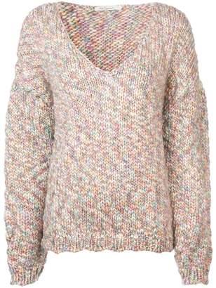 Mes Demoiselles Jefferson V-Neck Sweater