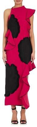 Proenza Schouler WOMEN'S CUTOUT CREPE DRESS