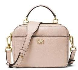 MICHAEL Michael Kors Mott Mini Pebbled Leather Crossbody