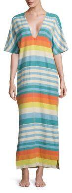 Mara Hoffman Artisans Equator Kimono Dress $310 thestylecure.com