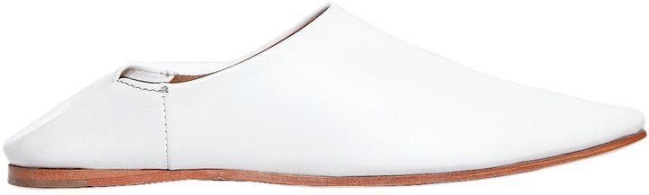 Jeffrey Campbell 10mm Vijay Pointed Toe Leather Mules