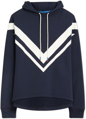 Tory Sport FRENCH TERRY CHEVRON HOODIE