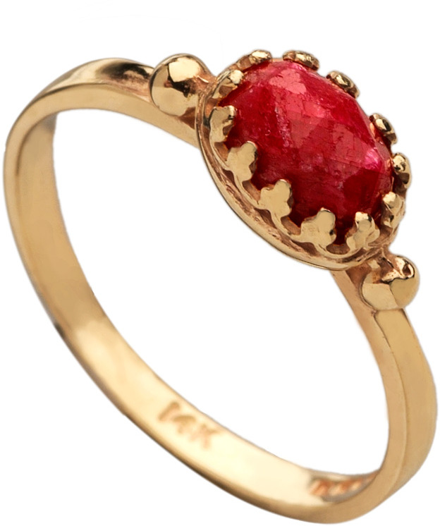 Becky Kelso Ruby Ring