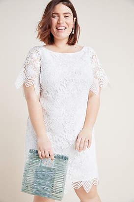 Anthropologie Charleston Lace Mini Dress