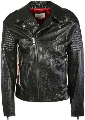 Gucci Padded Elbow Biker Jacket