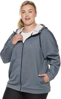 Nike Plus Size Hooded Zip Front Jacket