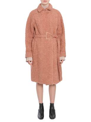 Carven Boucle Wool Coat