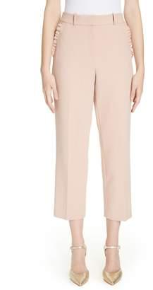 Kate Spade Ruffle Pocket Crop Pants