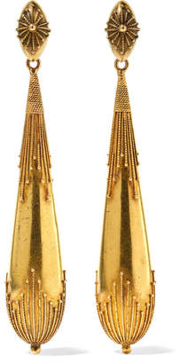 Fred Leighton - Georgian 18-karat Gold Earrings