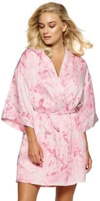 Jezebel Women's Satin Kimono Robe
