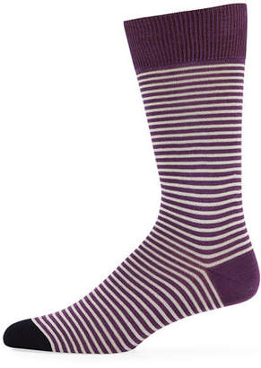Paul Smith Men's Mini Two-Striped Socks