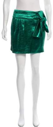 BA&SH Bow-Accented Mini Skirt w/ Tags