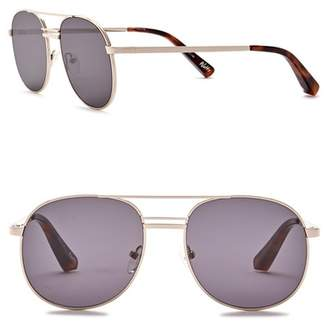 Elizabeth and James Watts 53mm Metal Aviator Sunglasses