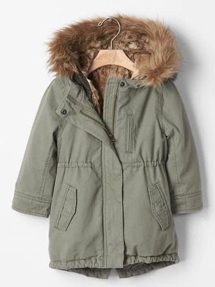 3-In-1 Fur Parka $108 thestylecure.com