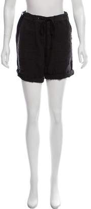 James Perse Linen Mini Shorts
