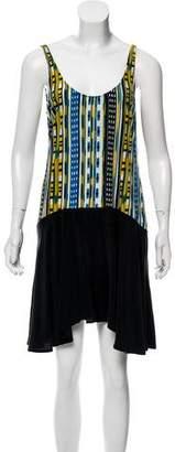 Thakoon Printed Sleeveless Dress