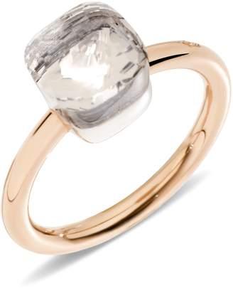 Pomellato Nudo White Topaz Mini Ring