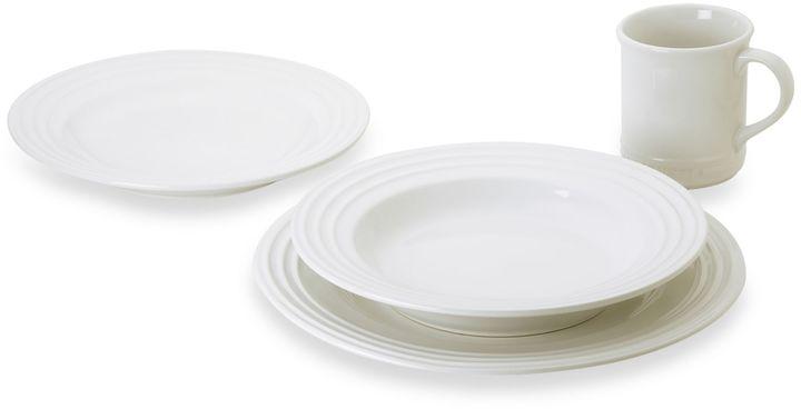 Le Creuset Dinnerware in White