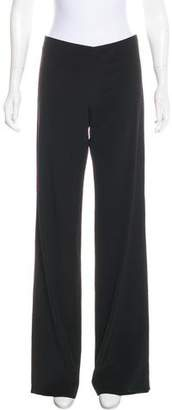 Jean Paul Gaultier Wool Mid-Rise Pants