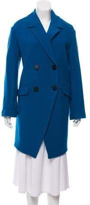 Diane von Furstenberg Knee-Length Wool Coat w/ Tags