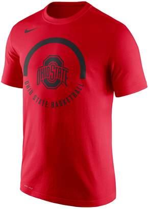 Nike Men's Ohio State Buckeyes Basketball Tee