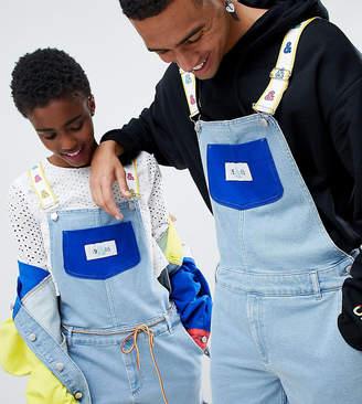 Asos DESIGN x glaad& overalls in color block