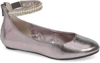 Steve Madden 'Jziler' Sequined Round Toe Ballet Flat