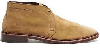 Alden Unlined Chukka Boot In Snuff Suede