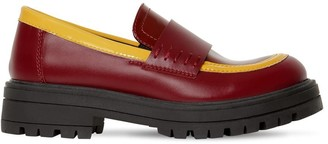 Marni Junior LEATHER LOAFER SNEAKERS