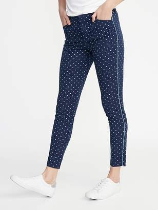 f950e3a0f Old Navy Mid-Rise Printed Pixie Ankle Pants for Women