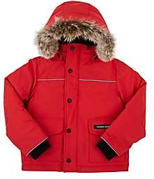 Canada Goose Kids' Lynx Tech-Fabric Youth Parka-Red