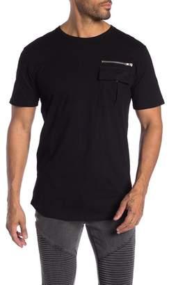 nANA jUDY Zip Detail T-Shirt