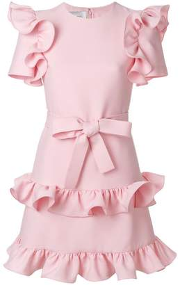 Valentino tiered ruffle dress