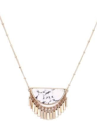 Wild Lilies Jewelry Howlite Fringe Necklace