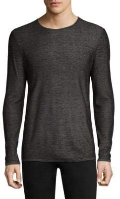 John Varvatos Double Face Crewneck Sweater