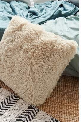 Garage Faux Fur Square Pillow