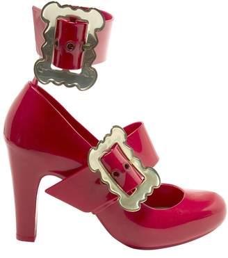 Vivienne Westwood Red Rubber Heels