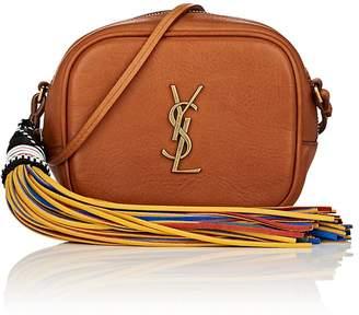 Saint Laurent Women's Monogram Blogger Leather Crossbody Bag