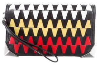 Elena Ghisellini Woven Leather Bag
