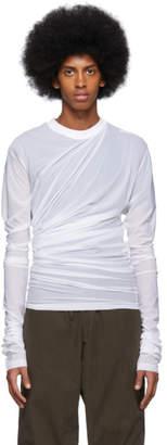 Y/Project White Condom Sweater