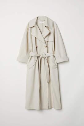 H&M Trenchcoat - Light beige - Women