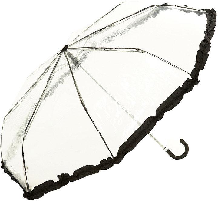 Clear Frill Umbrella