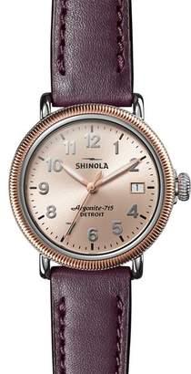 Shinola Runwell Coin-Edge Watch, 38mm