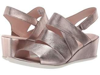 f7b1bec201f1 Ecco Metallic Leather Women s Sandals - ShopStyle