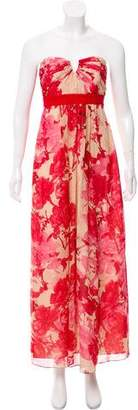 Ted Baker Floral Printed Evening Dress